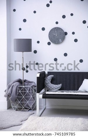 Modern child's room interior