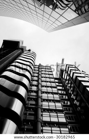 Modern City London Architecture - stock photo