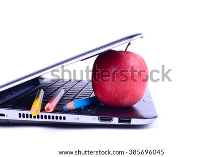 Modern Classroom and digital learning concept - stock photo