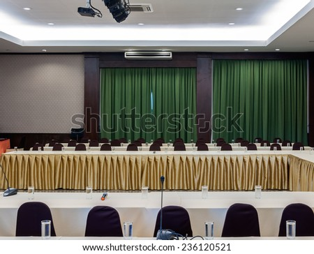 Modern conference room for business seminars. - stock photo