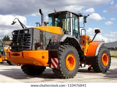 Modern Construction Vehicle - stock photo