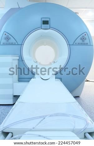 Modern CT machine - stock photo