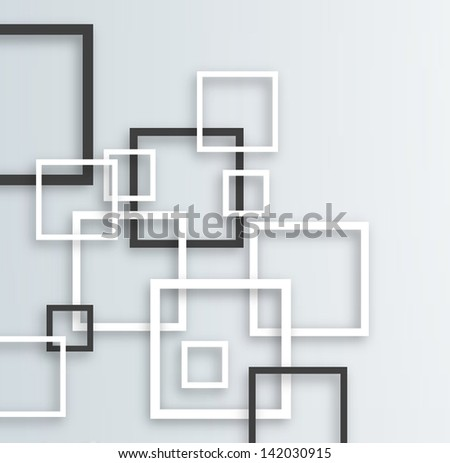 Modern Design Background with various shapes