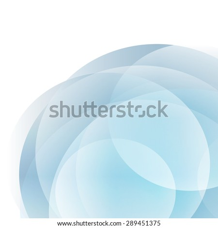 Modern Design Circle template, can be used for elegant flyer. Gorgeous graphic ilustration for booklet layout page, leaflet template, vertical banner - stock photo