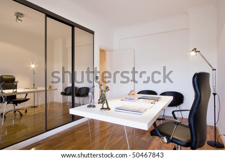 Modern design interior - stock photo