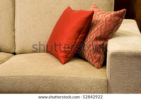 Modern design interior, great for architecture, decoration and style themes. - stock photo