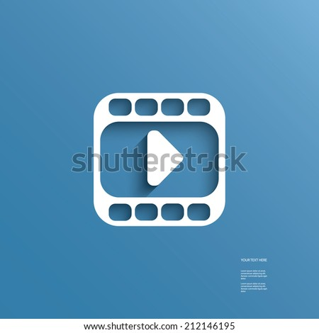 Modern design website button also suitable for infographics, presentations, applications, etc. - stock photo