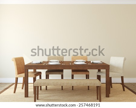 modern dining room pictures free. modern dining-room interior.3d render. dining room pictures free c
