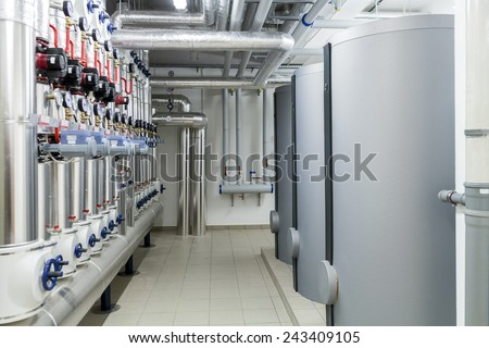 Geothermal heat pump stock images royalty free images for Most effective heating system