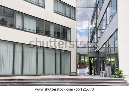 Modern Entrance - stock photo