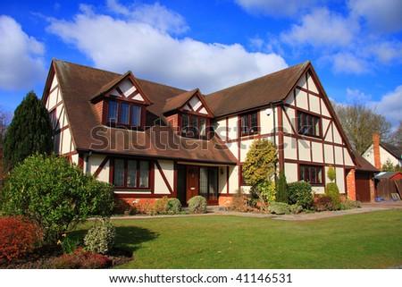 Modern Family Home - stock photo