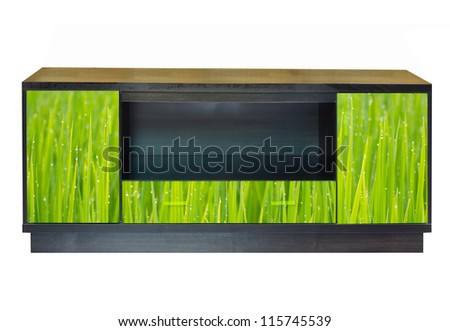 Modern furniture for home decoration - stock photo