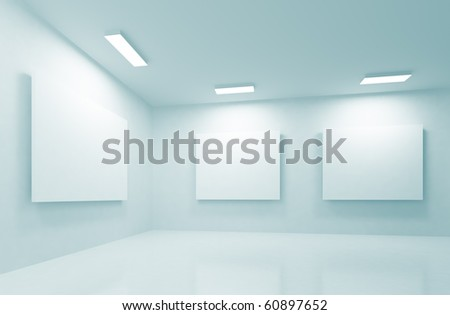 Modern Gallery - stock photo