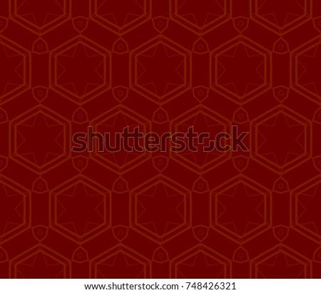 Modern Geometric Seamless Pattern For Design Page Fill Wallpaper Illustration