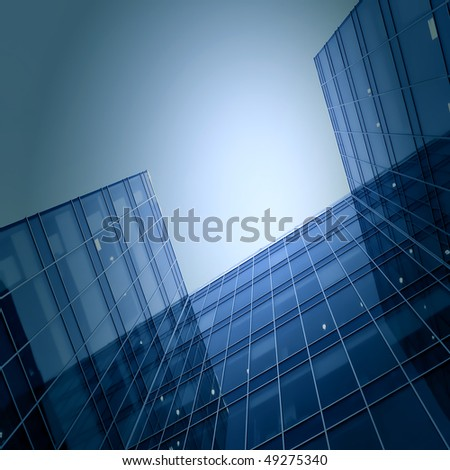 modern glass business center