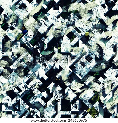 modern grunge raster seamless pattern texture - stock photo