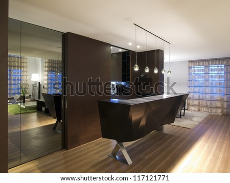 https://thumb7.shutterstock.com/display_pic_with_logo/640501/117121771/stock-photo-modern-house-bar-and-kitchen-117121771.jpg