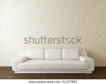 modern interior - stock photo