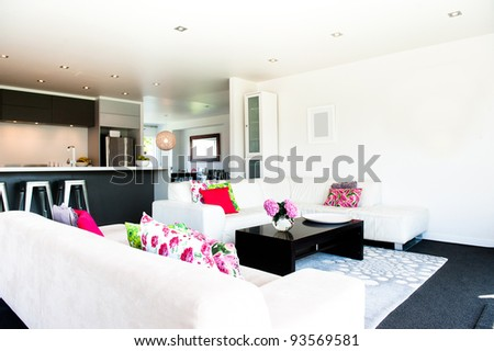 Modern Interior Designer Room - stock photo