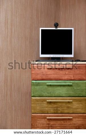 Modern interior room - stock photo
