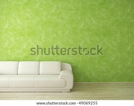 Modern interior - see more variations in portfolio - stock photo