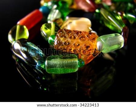 Modern Jewelry - stock photo