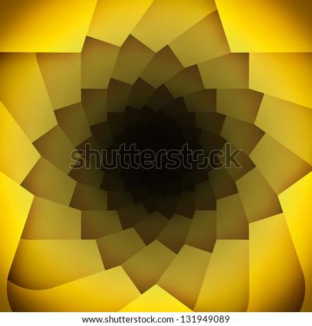 Modern kaleidoscope background. - stock photo