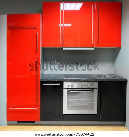 Modern kitchen. - stock photo