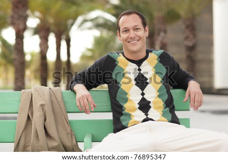 Modern man - stock photo