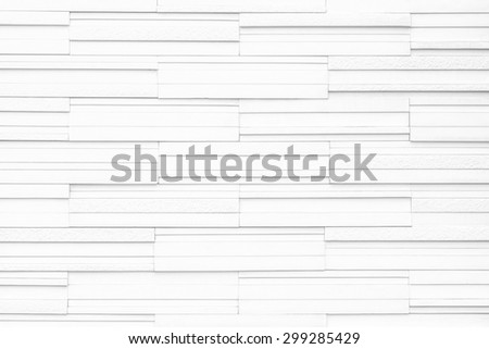 Modern marble tile wall : Granite tiled wall pattern texture background in light white color tone - stock photo
