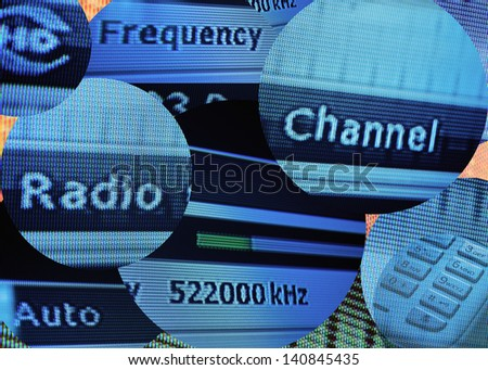 Modern media: televisions and radio inundate users with an avalanche of information that can empower, misinform, or overwhelm. Digital composite photograph