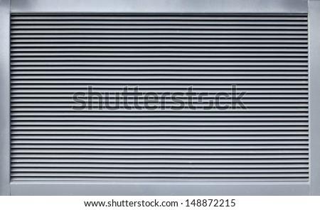 Modern metal ventillation grid like style background - stock photo