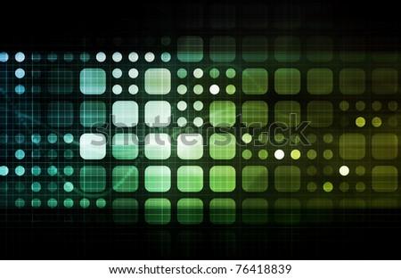 Modern Multimedia Creative as a Art Background - stock photo