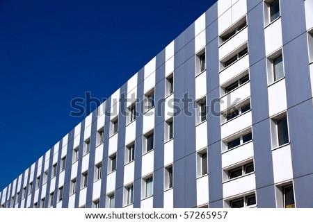 Modern office building - stock photo