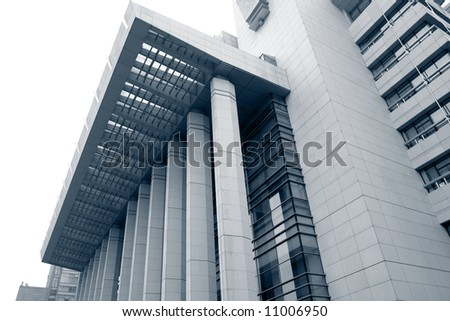 Modern office building architecture - stock photo