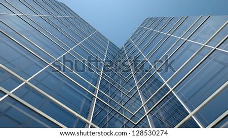 modern office building facade stock illustration 128530274