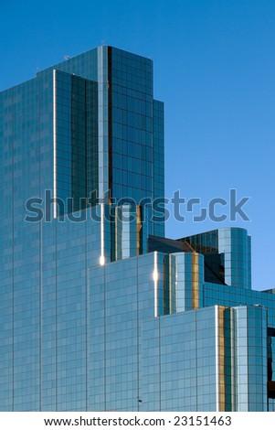 Modern office building in Dallas, TX - stock photo