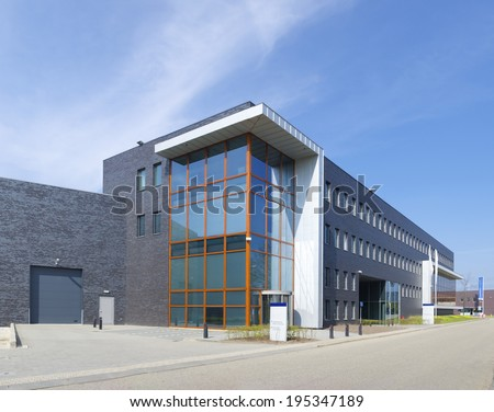 Warehouse exterior stock images royalty free images for Warehouse building design