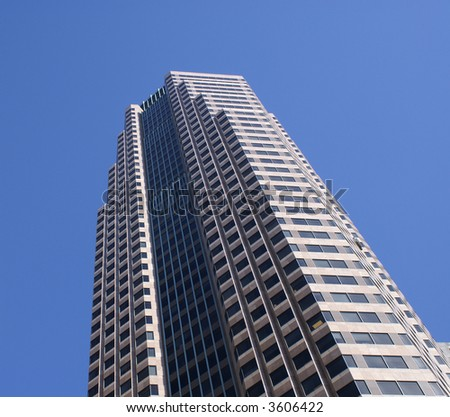 Modern Office building skyscraper los angeles