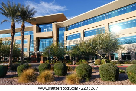 Modern Office Complex - stock photo