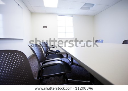 Modern office conference room interior. - stock photo