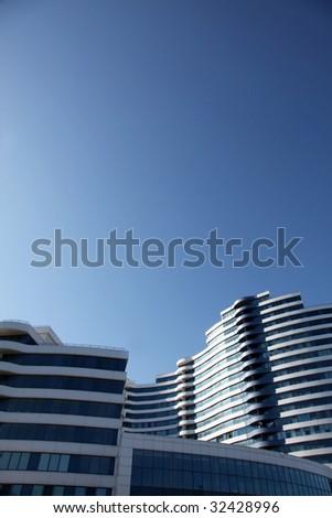 Modern office house - stock photo