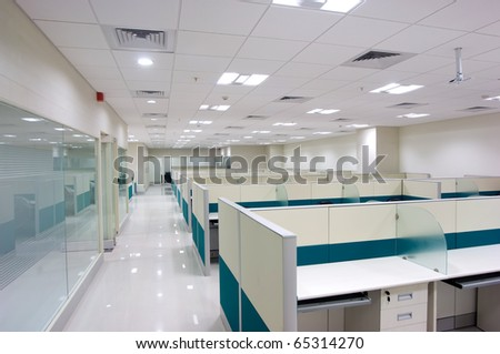 modern office work place