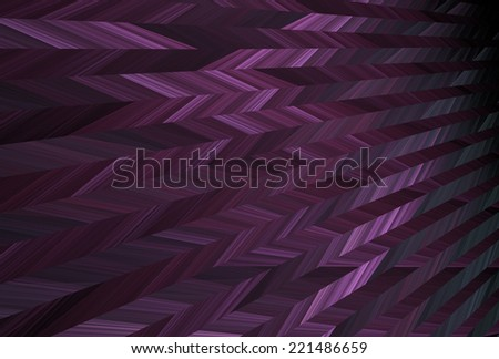Modern purple / grey stripes on black background - stock photo