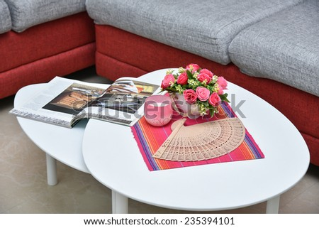 white red coffee table glass coffee table stock images royalty free images vectors