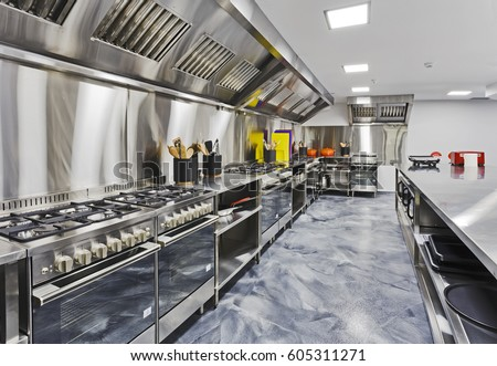 Restaurant Kitchenware restaurant kitchen stock images, royalty-free images & vectors