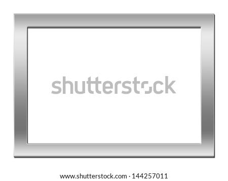 silver modern picture frames. Unique Frames Modern Silver Picture Frame With Silver Picture Frames Shutterstock