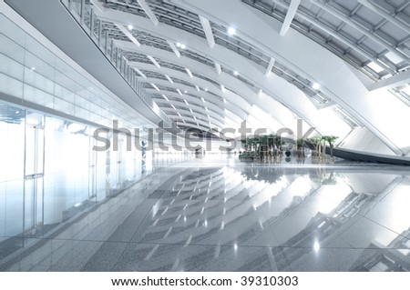 Modern Space - stock photo
