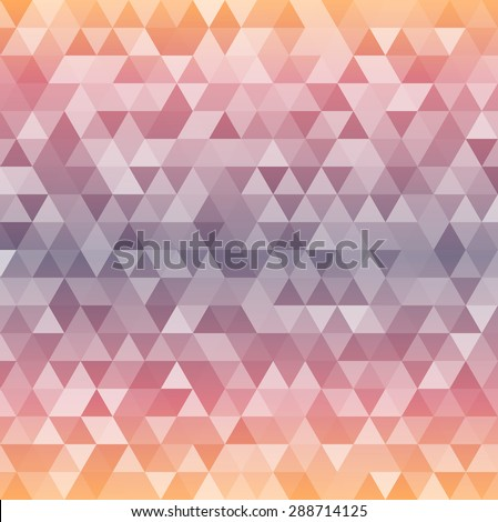 Modern style Design website banners background page. Abstract Gorgeous graphic illustration. Geometric concept triangle mosaic colored purple gamma colors for grunge backdrop presentation - stock photo