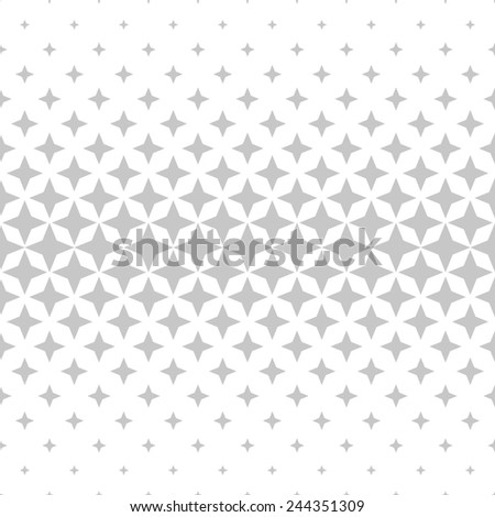 Modern stylish texture of the rhombus. Seamless pattern. Repeating geometric tiles. White and gray texture. - stock photo